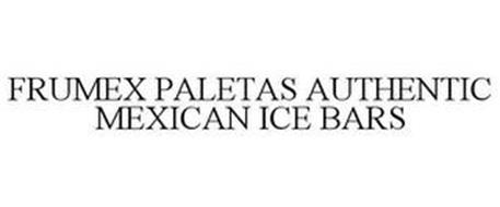 FRUMEX PALETAS AUTHENTIC MEXICAN ICE BARS