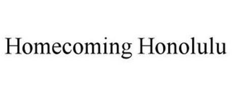 HOMECOMING HONOLULU