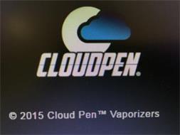 C CLOUDPEN 2015 CLOUD PEN VAPORIZERS