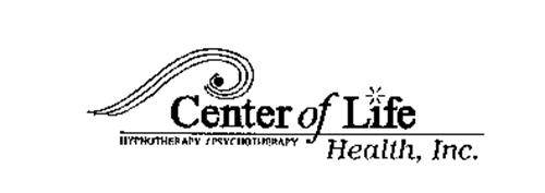 CENTER OF LIFE HEALTH, INC. HYPNOTHERAPY / PSYCHOTHERAPY
