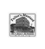 FULLER'S MUSTARD HOT SWEET ALL NATURAL NET WT. 5 OZ. (141.5G)