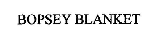 BOPSEY BLANKET