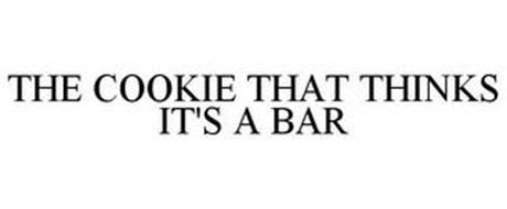 THE COOKIE THAT THINKS IT'S A BAR