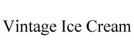VINTAGE ICE CREAM