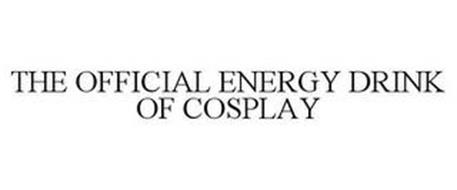 THE OFFICIAL ENERGY DRINK OF COSPLAY