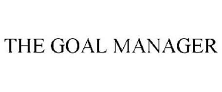 THE GOAL MANAGER
