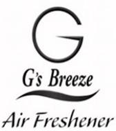 G G'S BREEZE AIR FRESHENER
