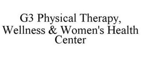 G3 PHYSICAL THERAPY, WELLNESS & WOMEN'S HEALTH CENTER