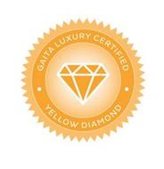 GAITA LUXURY CERTIFIED YELLOW DIAMOND