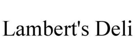LAMBERT'S DELI