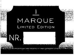 1 MARQUE LIMITED EDITION NR.