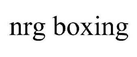 NRG BOXING