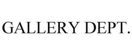 GALLERY DEPT.