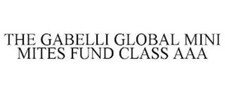 THE GABELLI GLOBAL MINI MITES FUND CLASS AAA