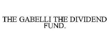 THE GABELLI THE DIVIDEND FUND.