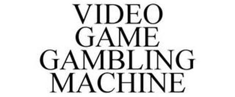 VIDEO GAME GAMBLING MACHINE