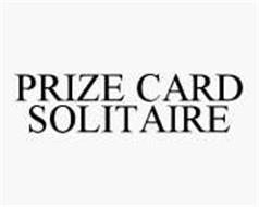 PRIZE CARD SOLITAIRE