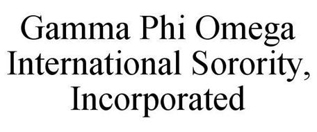 GAMMA PHI OMEGA INTERNATIONAL SORORITY, INCORPORATED