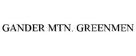 GANDER MTN. GREENMEN