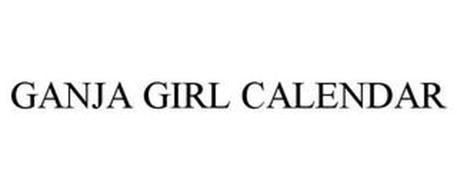 GANJA GIRL CALENDAR
