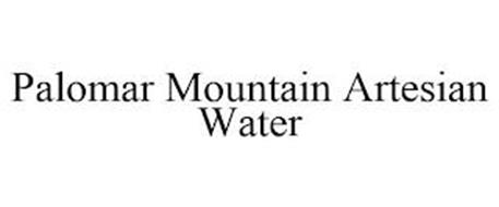 PALOMAR MOUNTAIN ARTESIAN WATER
