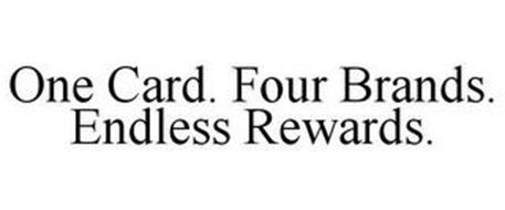 ONE CARD. FOUR BRANDS. ENDLESS REWARDS.