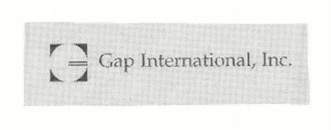 GAP INTERNATIONAL, INC.