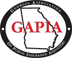 GAPIA GEORGIA ASSOCIATION OF PUBLIC INSURANCE ADJUSTERS