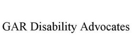 GAR DISABILITY ADVOCATES