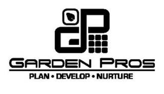 GP GARDEN PROS PLAN · DEVELOP · NURTURE