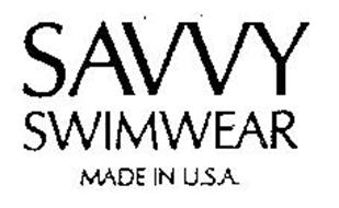 SAVVY SWIMWEAR MADE IN U.S.A.