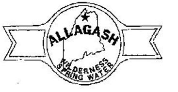 ALLAGASH WILDERNESS SPRING WATER