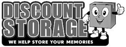 DISCOUNT STORAGE WE HELP STORE YOUR MEMORIES