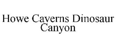 HOWE CAVERNS DINOSAUR CANYON