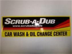 SCRUB·A·DUB CAR WASH & OIL CHANGE CENTER