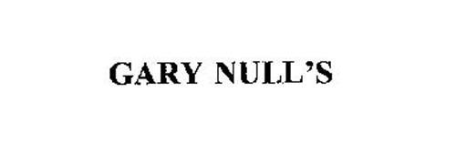 GARY NULL'S