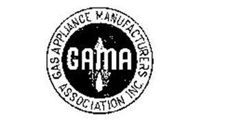 GAMA GAS APPLIANCE MANUFACTURERS ASSOCIATION INC.