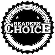 THE OFFICIAL COMMUNITY'S CHOICE AWARDS READER'S CHOICE
