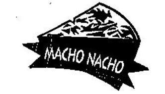 MACHO NACHO BRAND NACHO FLAVORED