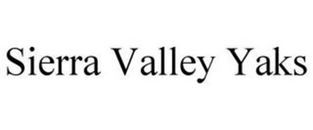 SIERRA VALLEY YAKS