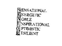 SENSATIONAL ENERGETIC NOBLE INSPIRATIONAL OPTIMISTIC RESILIENT
