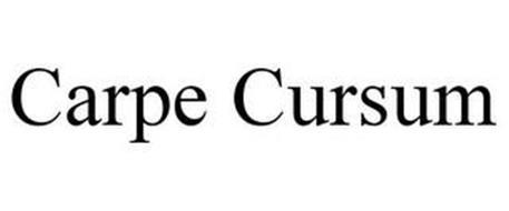 CARPE CURSUM