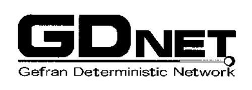 GDNET GEFRAN DETERMINISTIC NETWORK