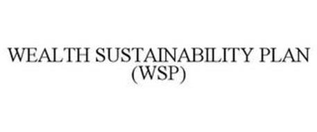 WEALTH SUSTAINABILITY PLAN (WSP)
