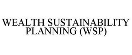 WEALTH SUSTAINABILITY PLANNING (WSP)