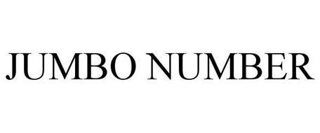 JUMBO NUMBER