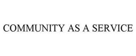 COMMUNITY AS A SERVICE