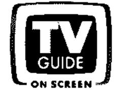 TV GUIDE ON SCREEN