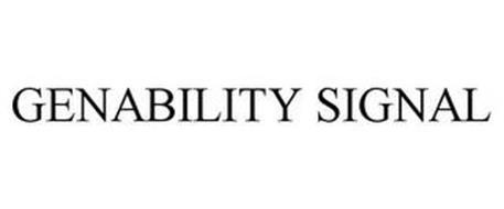 GENABILITY SIGNAL