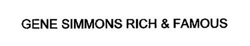 GENE SIMMONS RICH & FAMOUS